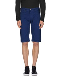 Replay Trousers Bermuda Shorts Men Blue