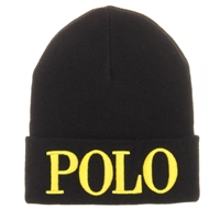 Polo Ralph Lauren Knit Hat Polo Black