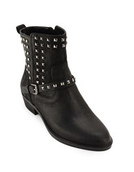 Lauren Ralph Lauren Shaelyn Casual Studded Booties Black