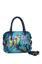 Anuschka Hand Painted Satchel Multi