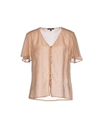 Daks London Shirts Khaki