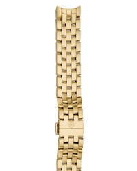Michele Belmore 18Mm Gold Plated Bracelet Strap