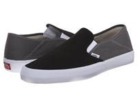 Vans Slip On Sf 2 Tone Black Pewter Men's Shoes
