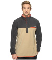 Columbia Mountain Side Fleece Jacket British Tan Shark Super Sonic Men's Coat