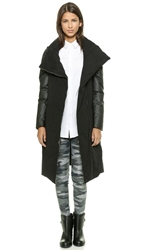 Pure Dkny Puffer Coat Black