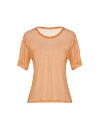 Base London T Shirts Orange