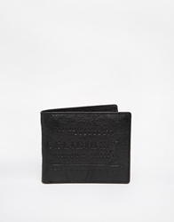 Religion Leather Billfold Wallet Black