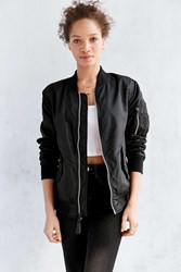 Alpha Industries Lightweight Ma 1 Bomber Jacket Black