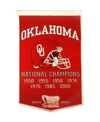 Winning Streak Oklahoma Sooners Dynasty Banner Team Color
