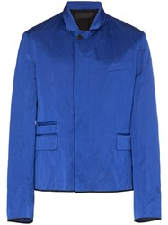 Haider Ackermann Zipped Blazer Jacket Blue