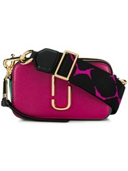 Marc Jacobs Snapshot Small Camera Bag Pink And Purple