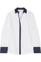La Ligne Cotton Twill Shirt White