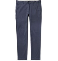 Club Monaco Connor Slim Fit Stretch Cotton Twill Chinos Storm Blue