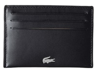 Lacoste Fg Credit Card Holder Black Credit Card Wallet