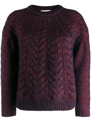 Vanessa Bruno Cable Knit Jumper 60
