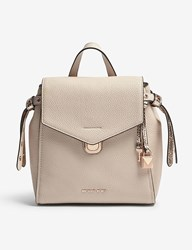 Michael Michael Kors Bristol Small Leather Backpack Soft Pink