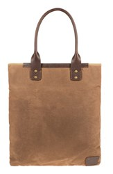 Will Leather Goods Men's 'Cooper Spur' Canvas Tote Bag Brown Field Tan
