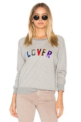 Mother The Square Sweatshirt Grey