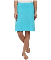 Fresh Produce Marina Skirt Luna Turquoise Women's Skirt Blue