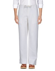 Jey Coleman Cole Man Casual Pants White