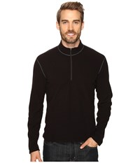 Hot Chillys Micro Fleece Zip T Black Men's Clothing