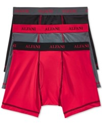 Alfani Perform Boxer Briefs 3 Pack Only At Macy's Red