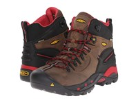 Keen Utility Pittsburgh Boot Bison Red Men's Work Boots Brown