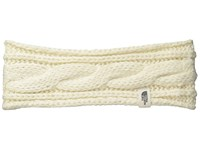 The North Face Cable Eargear Vintage White Headband Beige