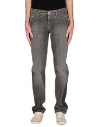 Trend Corneliani Denim Pants Grey