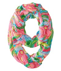 Lilly Pulitzer Riley Infinity Loop Rayon Multi So A Peeling Scarf Scarves