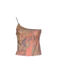 Pin Up Stars Topwear Tops Women Coral