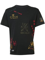 Haculla Printed T Shirt Black