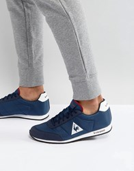 Le Coq Sportif Raceron Nylon Trainers In Navy 1711236