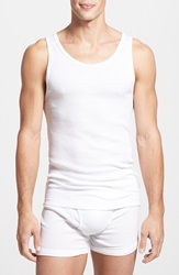 Calvin Klein Cotton Tank Top 3 Pack White