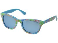 Lilly Pulitzer Maddie Polarized Polarized Light Aqua Mirror Polarized Fashion Sunglasses Blue