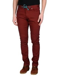 Element Casual Pants Maroon