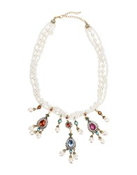 Jolie By Edward Spiers Necklaces White