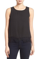 Women's Cupcakes And Cashmere 'Sierra' Lace Trim Tank