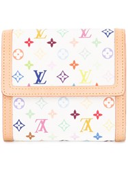 Louis Vuitton Vintage Monogram Wallet White