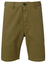 Paul Smith Ps Slim Fit Chino Shorts Green