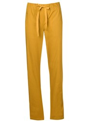 Semicouture Drawstring Trousers Brown