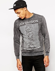 Worn By Joy Division Japan Sweat Grey