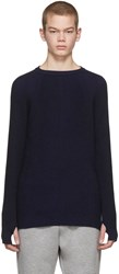 Diesel Black Gold Blue And Ribbed Sweater