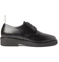Common Projects Cadet Leather Derby Shoes Black