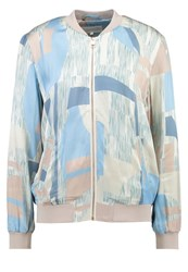 Mbym Chilly Bomber Jacket Cassia Light Blue