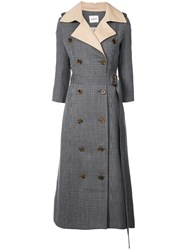Khaite Charlotte Trench Coat Brown