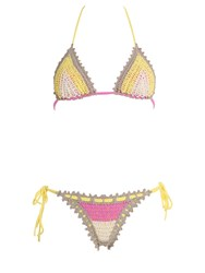 Pin Up Stars Crochet Triangle Bikini
