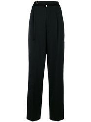 Helmut Lang Harness Strap Trousers Black