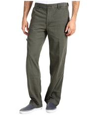 Dockers Comfort Cargo D3 Classic Fit Canvas Rifle Green Men's Casual Pants Pewter