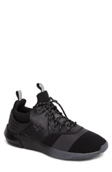 Creative Recreation Men's Motus Sneaker Black Reflective Leather